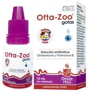 OFTA-ZOO GOTAS FCO X10 ml