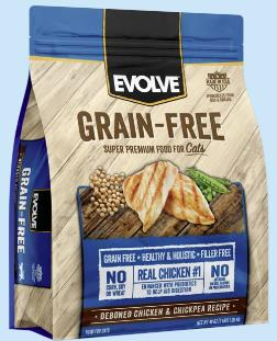 EVOLVE CAT GRAIN FREE...