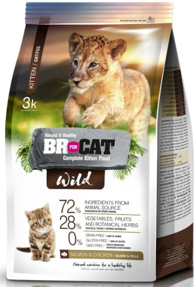 BR FOR CAT WILD KITTEN...