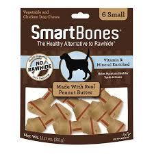SNACK SMARTBONES MANTEQUILA SMALL X 6 PK