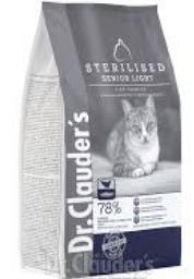 DR CLAUDERS CAT SENIOR LIGHT X 400gr