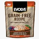 EVOLVE CAT GRAIN FREE POUCH...