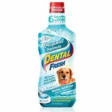 DENTAL FRESH DOG ORI X 8 oz