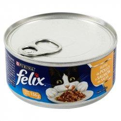 FELIX FILETE POLLOSALMON SALSA X 156 gr