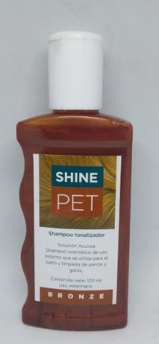 SHINEPET BRONZE X 120 ml