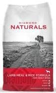 DIAMOND NATURALS LAMB  RICE ADULTO X 40 Lb