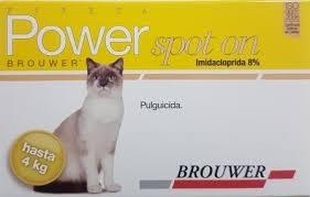POWER SPOT-ON PIPETA 4 kg Gatos