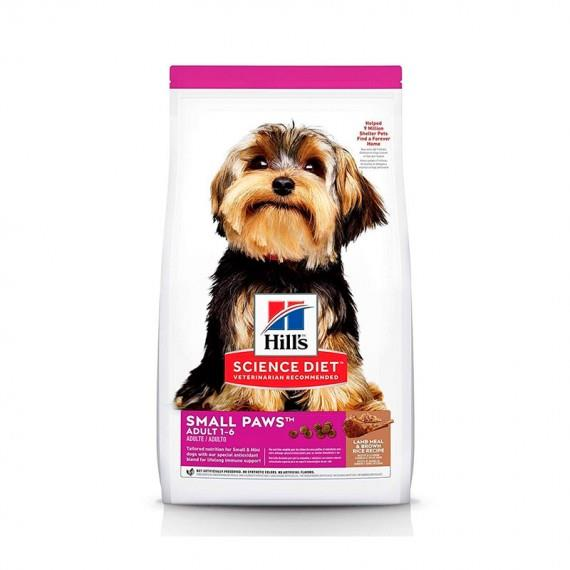 HILLS C ADULTO SMALL TOY BREED LAMB & RICE...