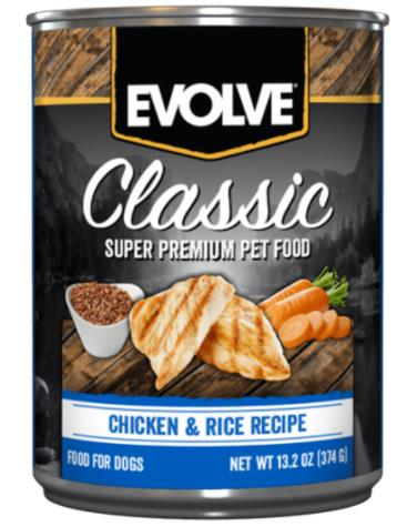 EVOLVE DOG LATA POLLO 13.2 oz 374 gr